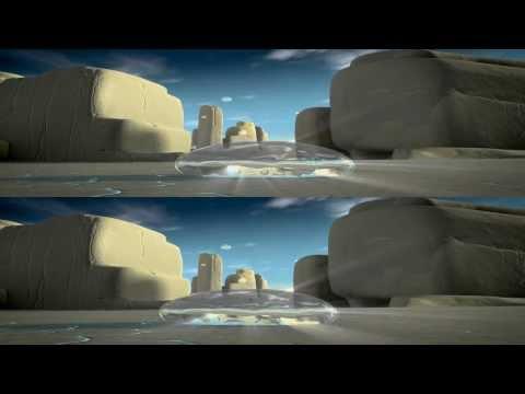AMAZING 3D - Solar dust PART 2 (Lichtmond 2) [1080p]