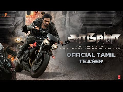 Saaho Official Tamil Teaser