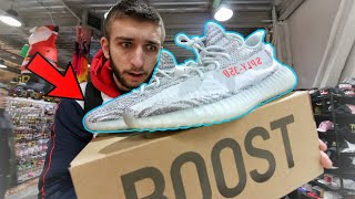 I BOUGHT the ADIDAS YEEZY 350 BLUE TINT! ARE EARLY YEEZYS LEGIT?