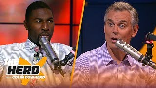 Greg Jennings reveals who he doesn't think belongs on Top 100 list, talks Browns | NFL | THE HERD