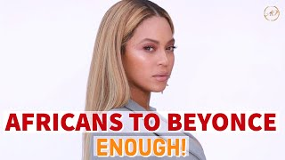 "Africans SLAMS Beyoncè's ""Black is King"" Visual Album Trailer"