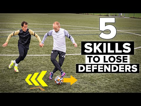 Learn 5 skills with your back to the opponent