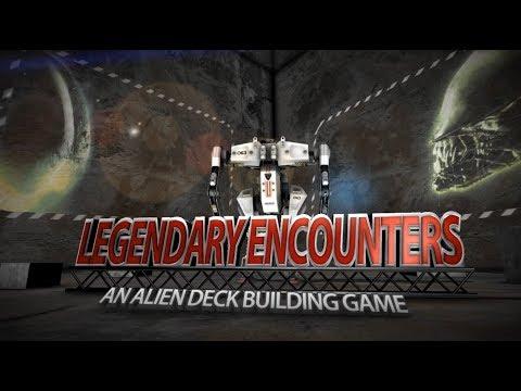 Legendary Encounters: Alien + expansión. Unboxing y cómo colocar las cartas