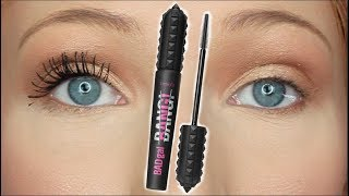 BENEFIT BAD GAL BANG MASCARA - Is It Worth The Money?! (REVIEW & DEMO)