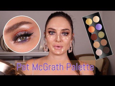 Pat Mcgrath Mothership VI: Midnight Sun Palette Tutorial \ ChloeMorello