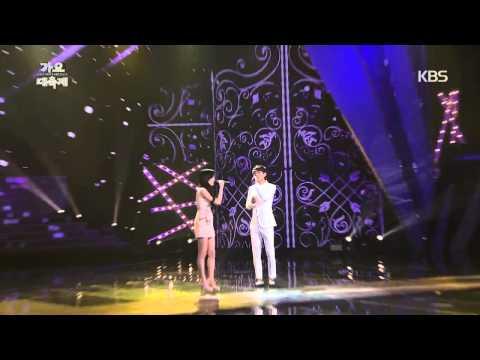[HIT] KBS 가요대축제-태연X EXO 첸(Taeyeon X EXO CHEN) - 숨소리.20141226
