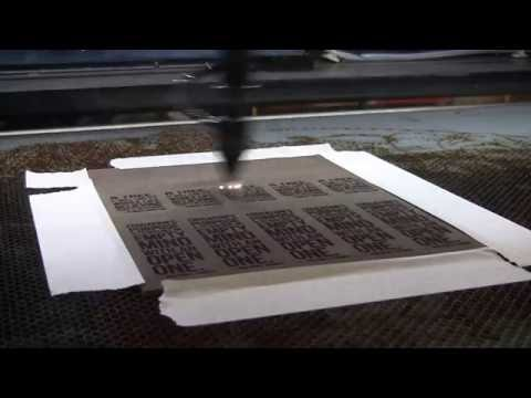 AP Lazer: Watch us Cut and Engrave Leather