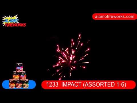 1233 Impact Assorted 1-6 - Alamo Fireworks