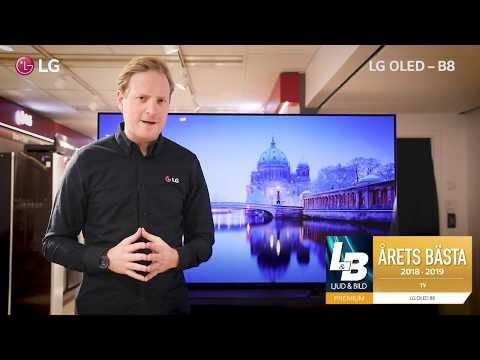 LG OLED B8 - Dansk text