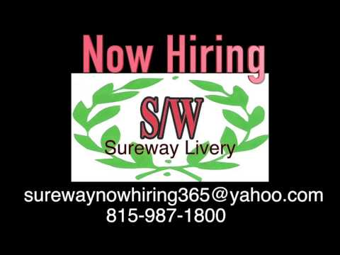 $$ Sureway LIVERY CAB SERVICE $$!!!!! DRIVER'S NEEDED!!! CHICAGO AREA!!$$$ ONLY