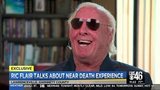 EXCLUSIVE: Ric Flair gives CBS46 his first interview since medical scare