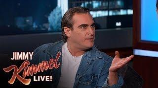 Joaquin Phoenix Has a Crush on Amy Poehler