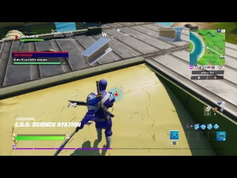Visit different E.G.O. outposts - Fortnite Locations