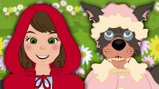 Cô bé quàng khăn đỏ câu chuyện cổ tích hoạt hình phim