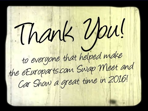 Thank You! From eEuroparts.com