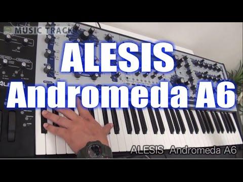 【DEMO】ALESIS Andromeda A6