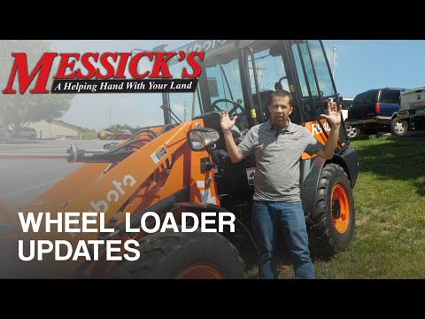 Kubota R540 \ R640 Wheel Loader Updates Picture