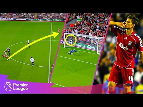 UNBELIEVABLE long-range goal! | Premier League | Classic goals from MW33 fixtures