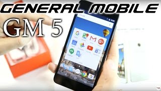 General Mobile GM 5 İncelemesi