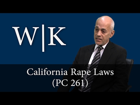 California Rape Laws (PC 261)