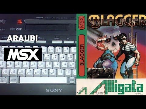 Blagger (Alligata, 1984) MSX [269] Walkthrough