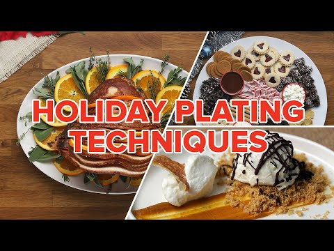 Holiday Plating Techniques ? Tasty
