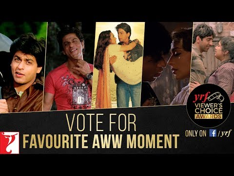Favourite Aww Moment | YRF Viewer's Choice Awards | Vote & Win