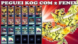 PEGUEI REI DO JOGOS COM DECK DE DUAS FENIX! Yu-Gi-Oh! DUEL LINKS