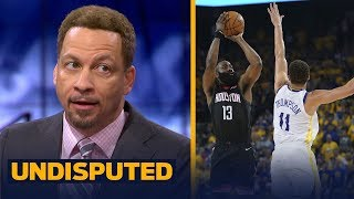 Chris Broussard believes Harden & the Rockets will win Game 3 against Warriors | NBA | UNDISPUTED