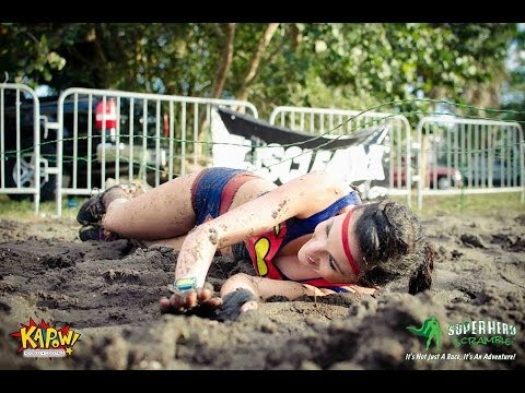 Superhero Scramble World Championship - Miami 2013