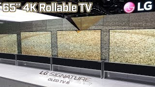 LG Signature OLED TV R - Rollable 4K TV!