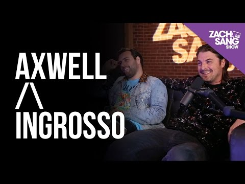 Axwell /\ Ingrosso Talk Renegade, Swedish House Mafia and The Chainsmokers