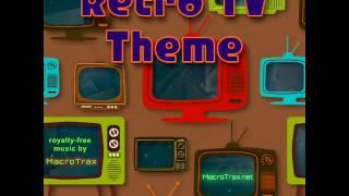 Retro TV Theme (Instagram short) MacroTrax royalty-free music