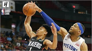 Portland Trail Blazers vs Detroit Pistons - Full Game Highlights | July 6, 2019 NBA Summer League