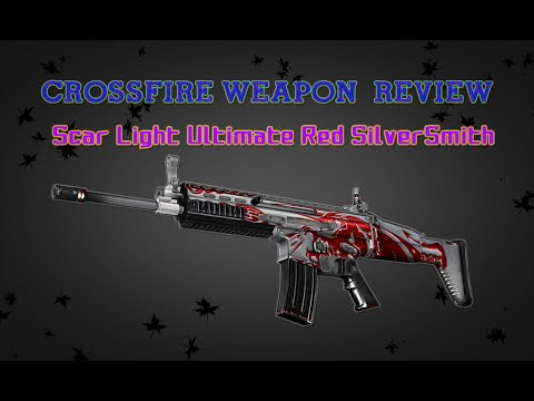 CrossFire China 2.0 : Scar Light-Ultimate Red SilverSmith [Review] ✔ #60FPS