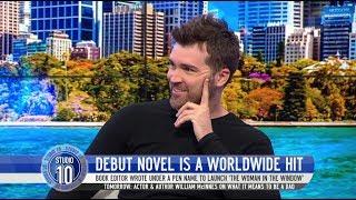 'Woman In The Window' Author A.J. Finn Debut Novel Movie Adaption | Studio 10