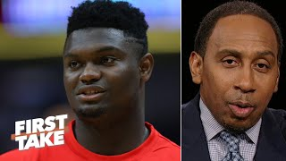 Stephen A. is keeping an eye on Zion, Embiid-Simmons and LeBron this season | First Take