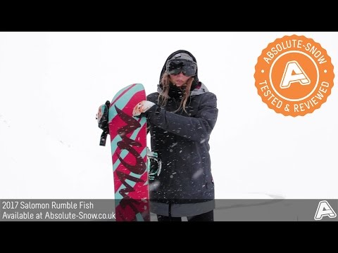 2016 / 2017 | Salomon Rumble Fish Snowboard | Video Review