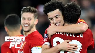 Liverpool beat rival Everton with AMAZING goal from Curtis Jones | FA Cup Highlights