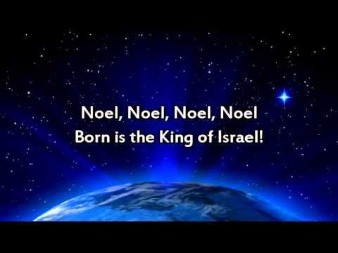 The First Noel - Instrumental with lyrics