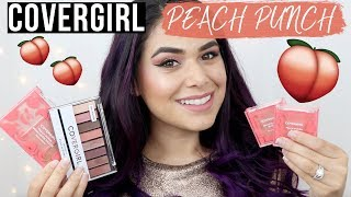 COVERGIRL PEACH PUNCH REVIEW 🍑 FULL COLLECTION + Tutorial