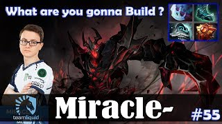 Miracle - Shadow Fiend MID | What are you gonna Build ? | Dota 2 Pro MMR Gameplay #55