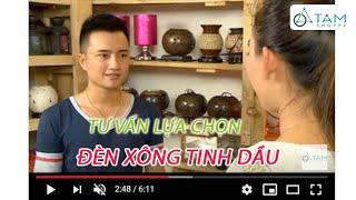 Tư vấn tiêu dùng Đèn xông tinh dầu / Tinh dầu thiên nhiên tại Tâm Nguyễn Shop