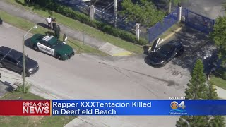 Rapper XXXTentacion Shot Dead In Broward, Reports Say