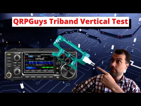 #93 QRPGuys Tri Band Antenna QSO Quicky ~700mi