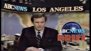 Peter Jennings ABC News Brief 1984
