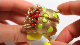DIY Bug Bling, Corinne Bugs Out