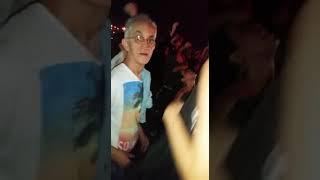 David Guetta, em Goiânia, 06/11/2016. Michelle, Roger, Rodrigo e Aglais, curtindo a vibe!