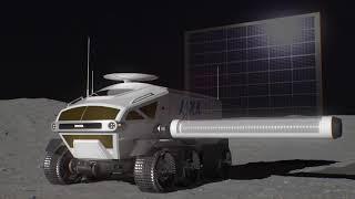 Toyota et la JAXA conçoivent un engin lunaire à pile hydrogène