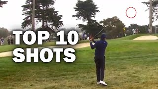 Tiger Woods Top 10 Shots from the 2020 PGA Championship